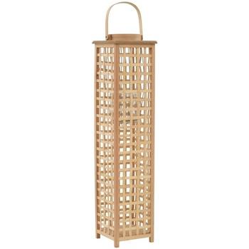 Casa Candelieri, porta candele Vidaxl Supporto per Lanterna a Sospensione in Bambù Naturale Beige