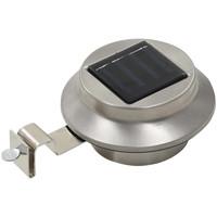 Casa Lampade da esterno  VidaXL Lampada solare Argento