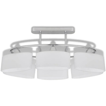 Casa Lampadari, sospensioni e plafoniere VidaXL Lampada da soffitto Bianco