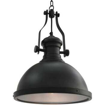 Casa Lampadari, sospensioni e plafoniere VidaXL Lampada da soffitto Nero
