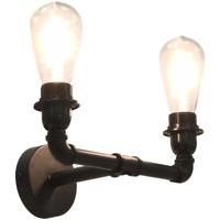 Casa Applique VidaXL Lampada da parete Nero