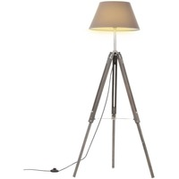Casa Lampade da tavolo VidaXL Lampada da pavimento Grigio