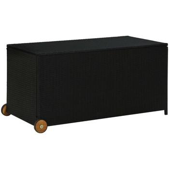 Casa Bauli, scatole di immagazzinaggio VidaXL Scatola portaoggetti Nero