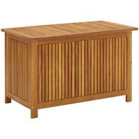 Casa Cestini, scatole e cestini VidaXL Contenitore per esterni 90 x 50 x 58 cm Marrone