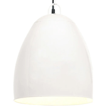 Casa Lampadari, sospensioni e plafoniere VidaXL Lampada a sospensione Φ 42 cm Bianco