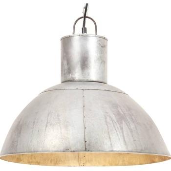 Casa Lampadari, sospensioni e plafoniere VidaXL Lampada a sospensione Φ 48 cm Argento
