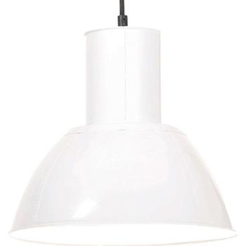 Casa Lampadari, sospensioni e plafoniere VidaXL Lampada a sospensione Φ 28.5 cm Bianco
