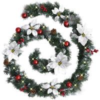 Casa Decorazioni natalizie VidaXL Ghirlanda natalizia Verde