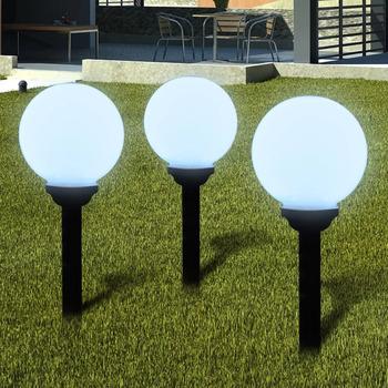 Casa Lampade da esterno  VidaXL Illuminazione Giardino 20 cm Bianco
