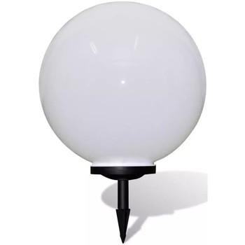 Casa Lampade da esterno  VidaXL Illuminazione Giardino 50 cm Bianco