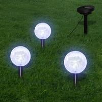 Casa Lampade da esterno  VidaXL Illuminazione Giardino Bianco