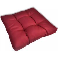 Casa cuscini VidaXL Cuscino per Sedia 60 x 60 x 12 cm Rosso