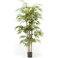 Casa Piante artificiali Emerald Bambù Artificiale 150 cm Verde