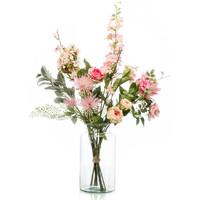 Casa Piante artificiali Emerald Bouquet Artificiale Pretty Pink XL Multicolore