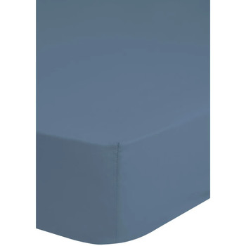 Casa Lenzuolo con angoli Hip Lenzuolo con Angoli 90x220 cm Blu Ghiaccio Blu