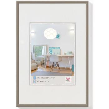 Casa cornici foto Walther Design Cornice per Foto New Lifestyle 40x60 cm Acciaio Marrone