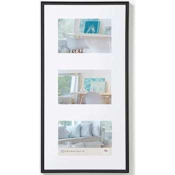 Casa cornici foto Walther Design Cornice per Foto New Lifestyle 3x10x15 cm Nera Nero