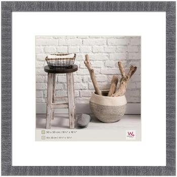 Casa cornici foto Walther Design Cornice per Foto Home 50x50 cm Grigia Grigio