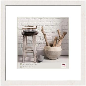 Casa cornici foto Walther Design Cornice per Foto Home 50x50 cm Bianco Polare Bianco