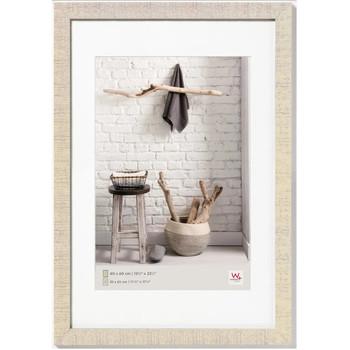 Casa cornici foto Walther Design Cornice per Foto Home 50x60 cm Bianco Crema crema