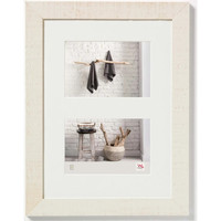 Casa cornici foto Walther Design Cornice per Foto Home 2x15x20 cm Bianca Bianco