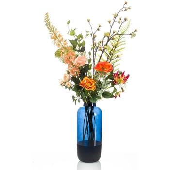 Casa Piante artificiali Emerald Bouquet Artificiale Happy Orange XL Multicolore
