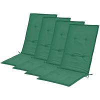 Casa cuscini VidaXL Cuscino per sedia 120 x 50 x 4 cm Verde