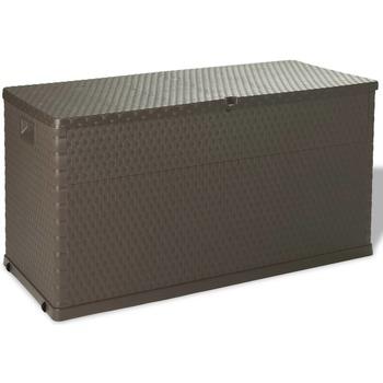 Casa Bauli, scatole di immagazzinaggio VidaXL Contenitore per esterni Marrone