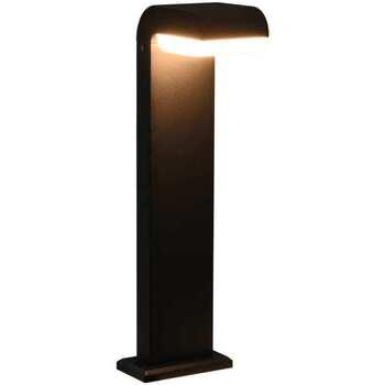 Casa Lampade da esterno  VidaXL Luce a LED 16 x 10 x 50 cm Nero