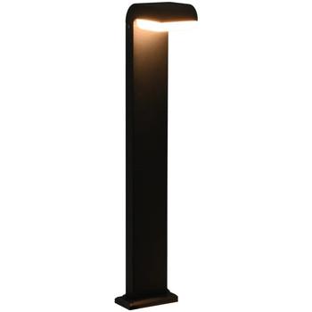 Casa Lampade da esterno  VidaXL Luce a LED 16 x 10 x 80 cm Nero