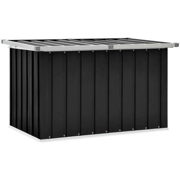 Casa Bauli, scatole di immagazzinaggio VidaXL Scatola portaoggetti 109 x 67 x 65 cm Antracite