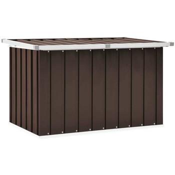 Casa Bauli, scatole di immagazzinaggio VidaXL Scatola portaoggetti 109 x 67 x 65 cm Marrone