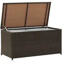 Casa Bauli, scatole di immagazzinaggio VidaXL Contenitore per esterni 100 x 50 x 50 cm Marrone