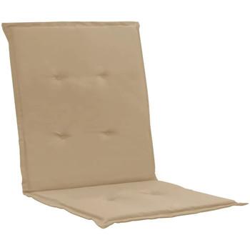 Casa cuscini VidaXL Cuscino per sedia 100 x 50 x 4 cm Beige