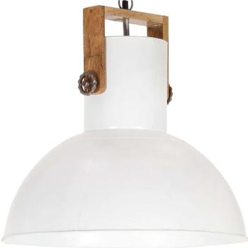 Casa Lampadari, sospensioni e plafoniere VidaXL Lampada a sospensione 52 cm Bianco