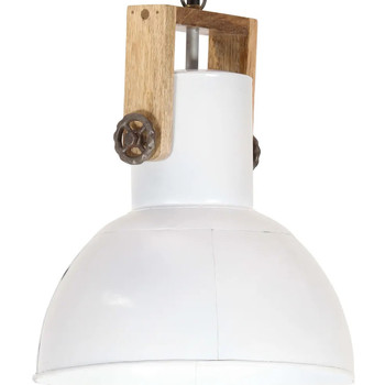 Casa Lampadari, sospensioni e plafoniere VidaXL Lampada a sospensione 32 cm Bianco