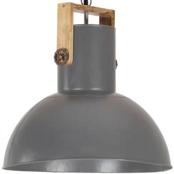Casa Lampadari, sospensioni e plafoniere VidaXL Lampada a sospensione 52 cm Grigio