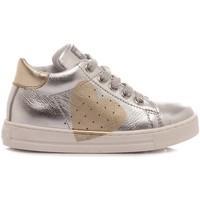 Scarpe Bambina Sneakers alte Falcotto Sneakers Bambina Heart Argento argento