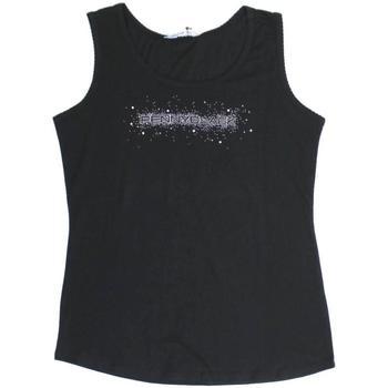 Abbigliamento Donna Top / T-shirt senza maniche Pennyblack ATRMPN-24468 Nero