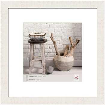 Casa cornici foto Walther Design Cornice per Foto Home 40x40 cm Bianco Polare Bianco