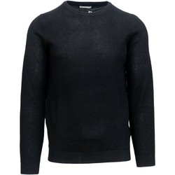 Abbigliamento Uomo T-shirts a maniche lunghe Sseinse mi1658ss Girocollo Uomo Nero Nero