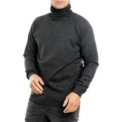 Abbigliamento Uomo Maglioni Sseinse mi1620ss Collo Alto Uomo Grigio Grigio