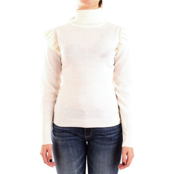 Abbigliamento Donna Maglioni Fracomina f120w04014k03901 Collo Alto Donna Bianco Bianco