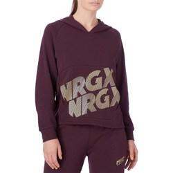 Abbigliamento Donna Felpe Energetics 407728 Con Cappuccio Donna Viola Viola