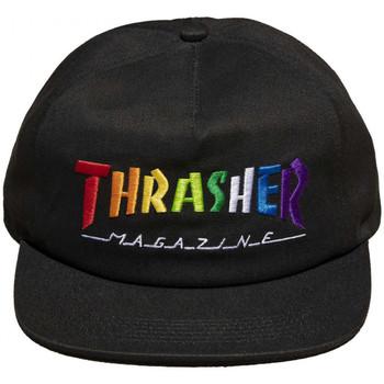 Accessori Uomo Cappellini Thrasher Cap rainbow mag snapback Nero
