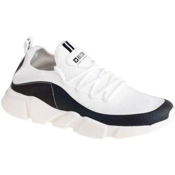 Scarpe Donna Sneakers basse Big Star FF274A052 Bianco, Nero