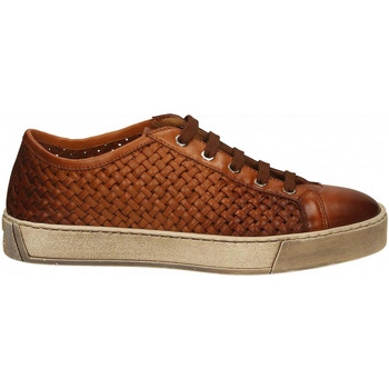 Scarpe Uomo Sneakers basse Santoni PILE light-brown