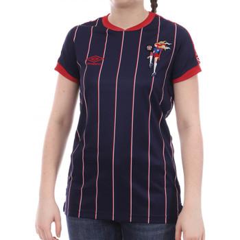 Abbigliamento Donna T-shirt maniche corte Umbro 773970-50 Blu