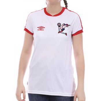 Abbigliamento Bambina T-shirt maniche corte Umbro 773860-50 Bianco