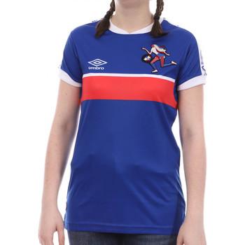 Abbigliamento Bambina T-shirt maniche corte Umbro 773880-50 Blu